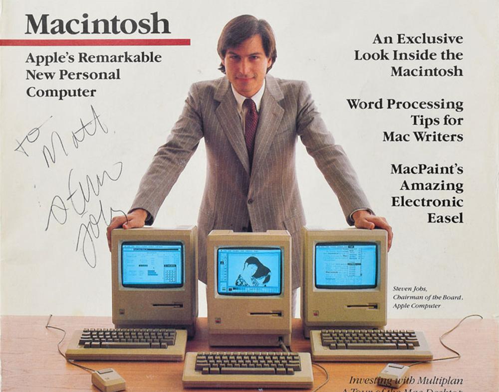 Un exemplaire rare de la revue Macworld estimé à 10.000 dollars signé par Steve Jobs